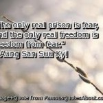 The Prison That Fear Made and We the willing captives