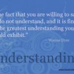 Knowledge Vs. Understanding